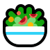 🥗 green salad Emoji on Windows Platform