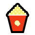 🍿 popcorn Emoji on Windows Platform