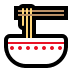 🍜 steaming bowl Emoji on Windows Platform