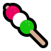 🍡 dango Emoji on Windows Platform
