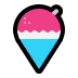 🍧 shaved ice Emoji on Windows Platform