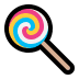 🍭 Lollipop Emoji on Windows Platform