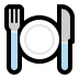 🍽️ fork and knife with plate Emoji on Windows Platform