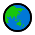 🌏 globe showing Asia-Australia Emoji on Windows Platform