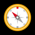 🧭 compass Emoji on Windows Platform