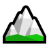 🏔️ snow-capped mountain Emoji on Windows Platform