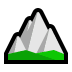 ⛰️ mountain Emoji on Windows Platform