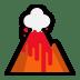 🌋 volcano Emoji on Windows Platform