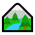🏞️ national park Emoji on Windows Platform