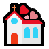 💒 wedding Emoji on Windows Platform
