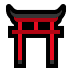 ⛩️ Shinto-Schrein Emoji auf Windows-Plattform