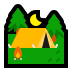 ⛺ tent Emoji on Windows Platform