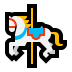 🎠 carousel horse Emoji on Windows Platform