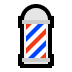 💈 Barber Pole Emoji on Windows Platform
