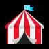 🎪 circus tent Emoji on Windows Platform