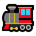 🚂 locomotive Emoji on Windows Platform