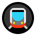 🚇 metro Emoji on Windows Platform