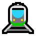 🚊 tram Emoji on Windows Platform