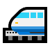 🚝 monorail Emoji on Windows Platform