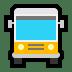 🚍 Oncoming Bus Emoji on Windows Platform