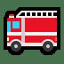 🚒 fire engine Emoji on Windows Platform