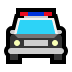 🚔 oncoming police car Emoji on Windows Platform