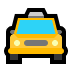 🚖 oncoming taxi Emoji on Windows Platform