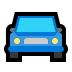 🚘 oncoming automobile Emoji on Windows Platform