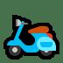 🛵 motor scooter Emoji on Windows Platform