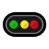 🚥 horizontal traffic light Emoji on Windows Platform
