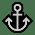 ⚓ anchor Emoji on Windows Platform