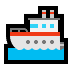 🚢 Schip Emoji op Windows Platform