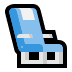 💺 seat Emoji on Windows Platform
