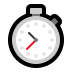 ⏱️ stopwatch Emoji on Windows Platform