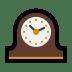 🕰️ mantelpiece clock Emoji on Windows Platform