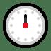 🕛 twelve o'clock Emoji on Windows Platform