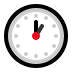 🕐 one o'clock Emoji on Windows Platform