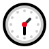 🕜 One-Thirty Emoji on Windows Platform
