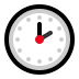 🕑 two o'clock Emoji on Windows Platform