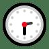🕝 two-thirty Emoji on Windows Platform