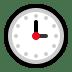 🕒 three o'clock Emoji on Windows Platform