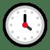 🕓 four o'clock Emoji on Windows Platform