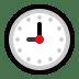 🕘 nine o'clock Emoji on Windows Platform