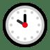 🕙 ten o'clock Emoji on Windows Platform