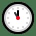 🕚 eleven o'clock Emoji on Windows Platform