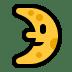 🌛 first quarter moon face Emoji on Windows Platform