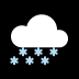 🌨️ cloud with snow Emoji on Windows Platform