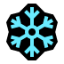 ❄️ snowflake Emoji on Windows Platform