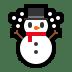 ☃️ snowman Emoji on Windows Platform