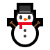 ⛄ snowman without snow Emoji on Windows Platform